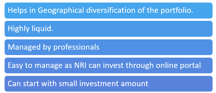 Advantages of Investing in Mutual Funds for NRI's